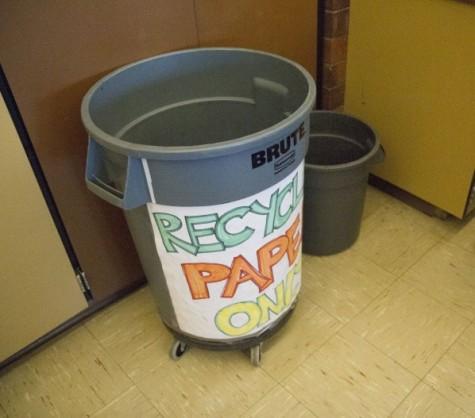 Schools help promote proper recycling