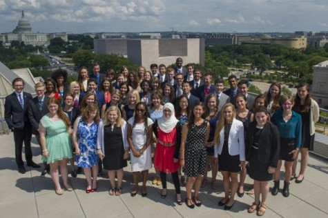 Destiny Smith represents Utah journalism at conference in Washington D.C.