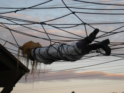 Witches take flight over at Gardner Village