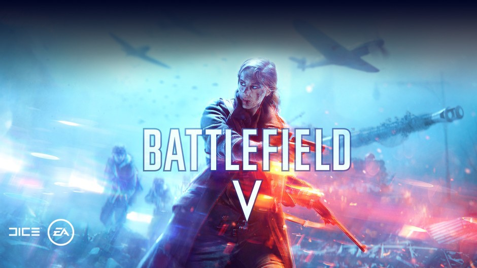 Recent ad for Battlefield V in Xbox store.