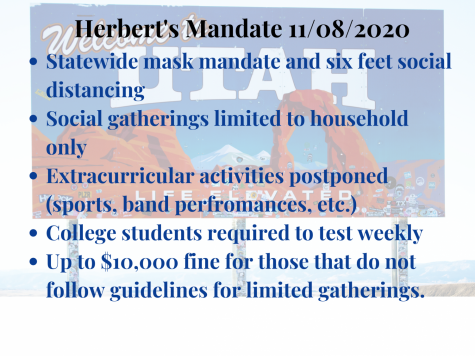 Herbert's new COVID mandates and student's views